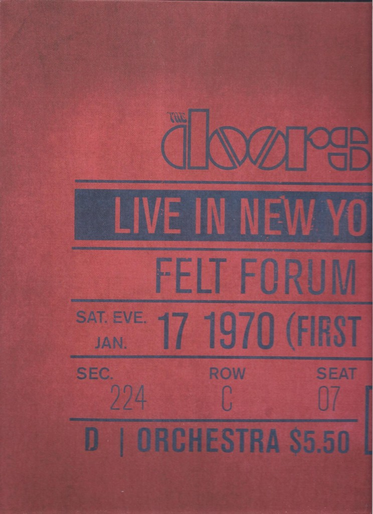 Doors live Felt forum 1970 LP